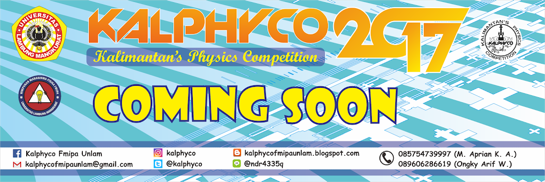 Kalimantan's Physics Competition 2017