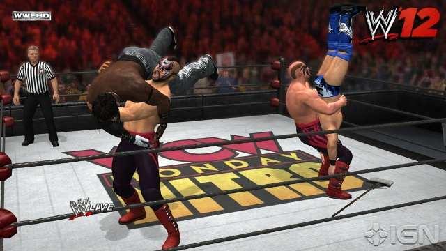 WWE 12 XBOX 360 2011 Full Español NTSC DVD9 ISO Descargar