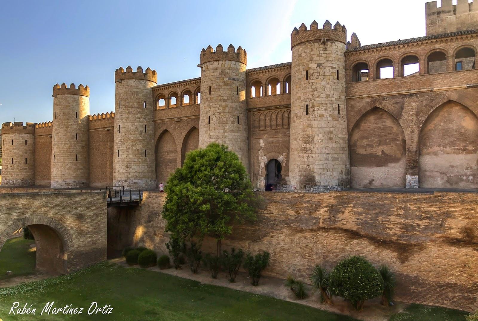 Rutinadas: Palacio de La Aljafería, Zaragoza