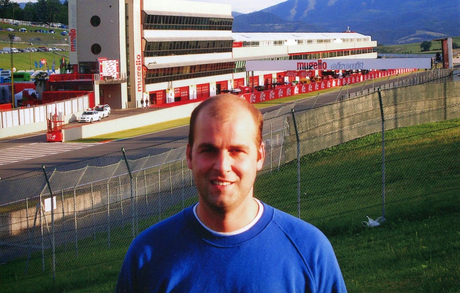 circuito de Mugello en Italia