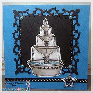 Digistamps4Joy - Fountain