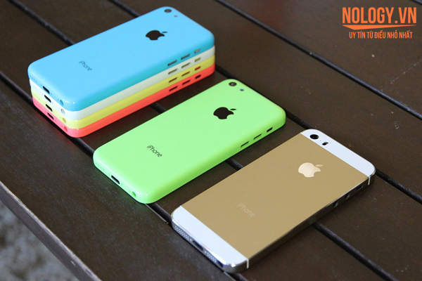 Thiết kế của Iphone 5c lock nhật
