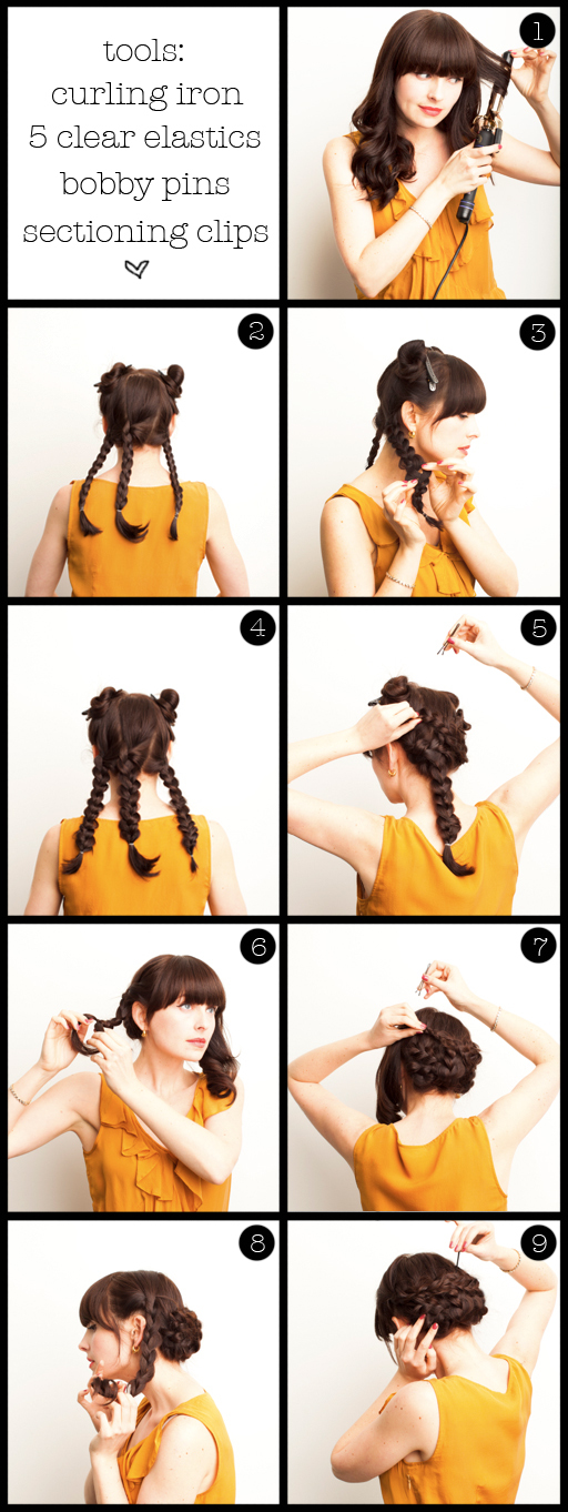 Sumber: How To Braided Bun