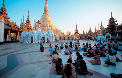 (Myanmar) – Yangon (Rangoon) - Botataung Pagoda