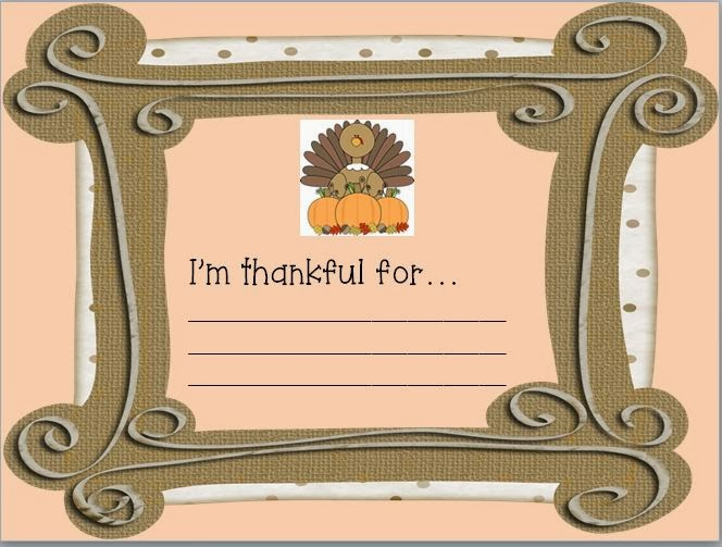 http://www.teacherspayteachers.com/Product/What-Im-Thankful-For-sign-953685
