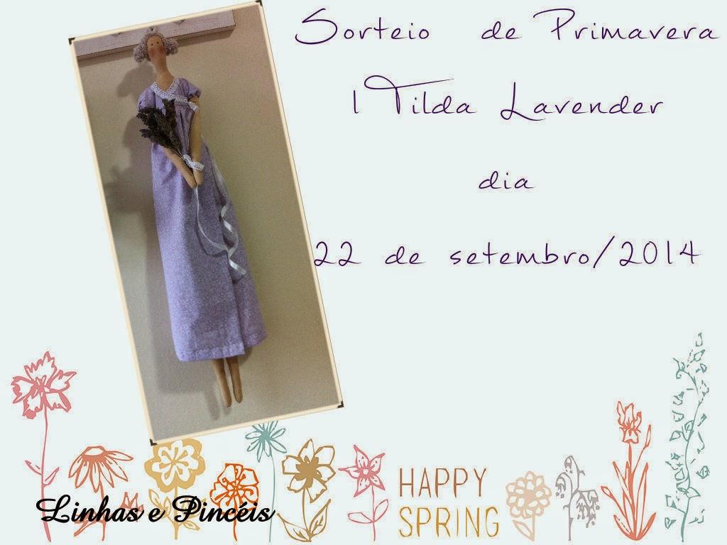 Sorteio Tilda Lavender