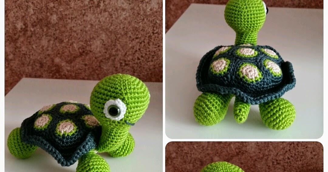 Handmade By ülkü Amigurumi Schildkröte Turtle Kaplumbağa