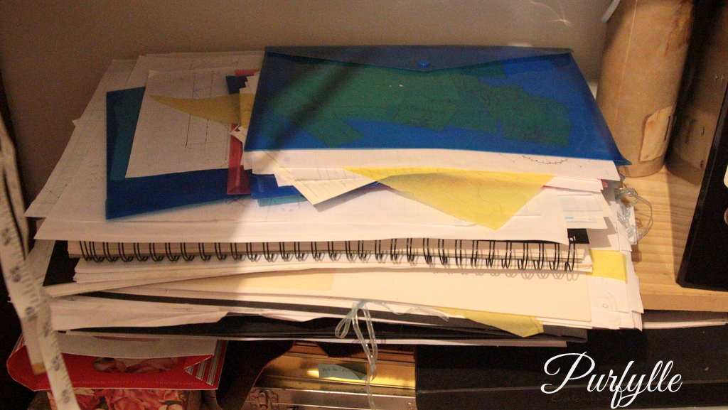 patterns and note books