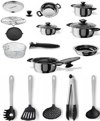 En la Cocina: Batería y utensilios básicos en una cocina