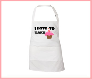 I Love To Bake Apron