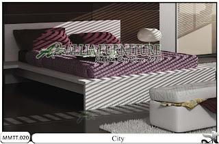 Tempat Tidur Minimalis type modern city