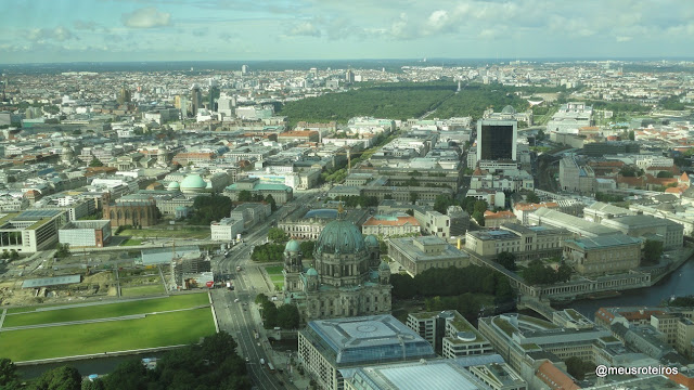 Vista da Torre de TV de Berlim - Berliner Fernsehturm