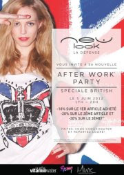 After work Party NewLook à Paris la défense mardi 5 juin