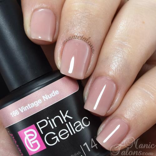 Pink Gellac Vintage Nude Swatch