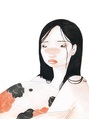 il·lustració sirena