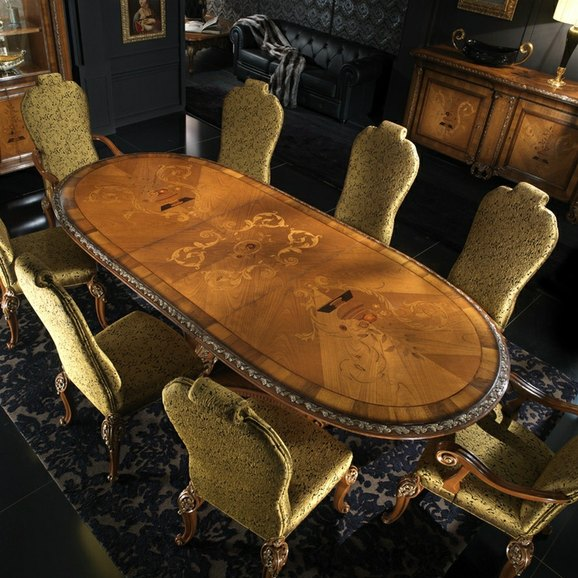 High end dining room furniture furniture for Luxury dining room furniture