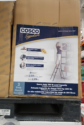 Use the Cosco 3 Step Stool for hard to reach places