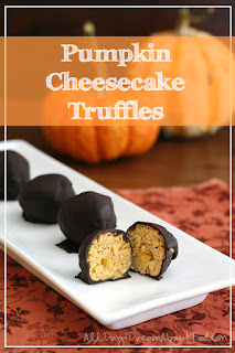 37 pumpkin recipes pumpkin cheesecake truffle