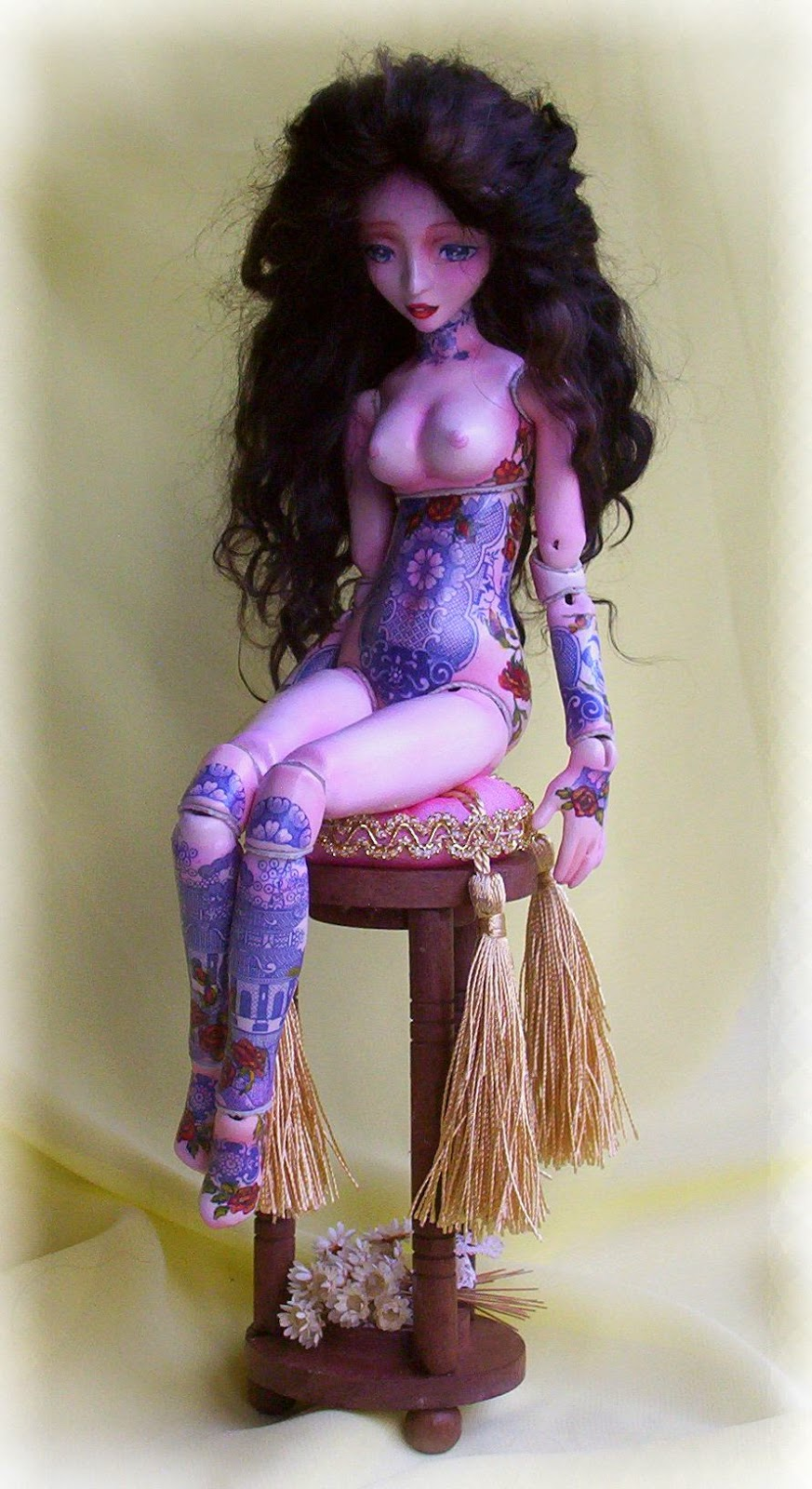 porcelain ball jointed doll art