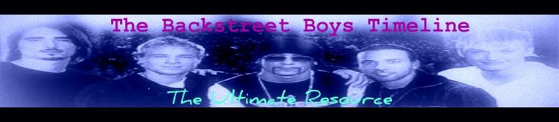 Backstreet Boys Timeline