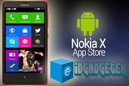 Instal Aplikasi di Nokia X Android