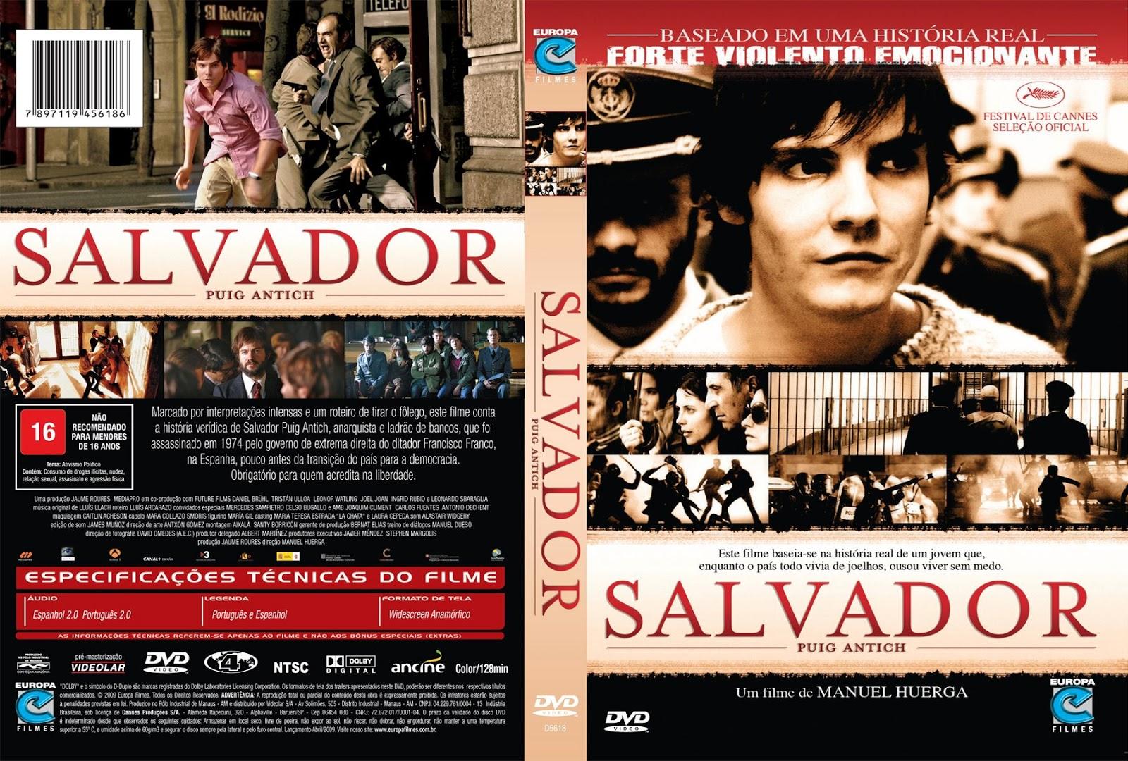 Capa DVD Salvador (Puig Antich)
