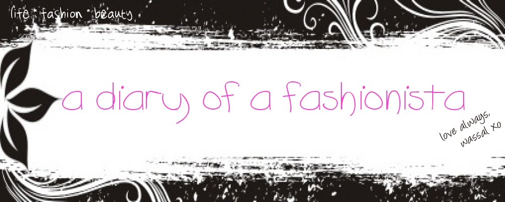 a diary of a fashionista
