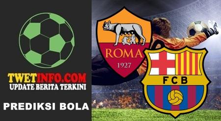 Prediksi AS Roma vs FC Barcelona, UCL 17-09-2015
