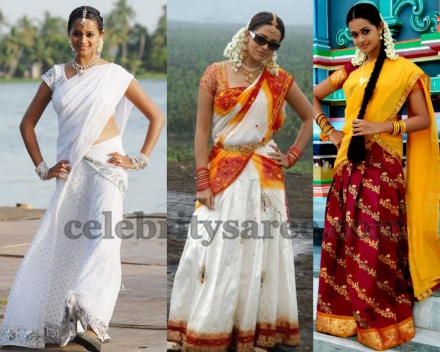 Bhavana Half Sarees Collection