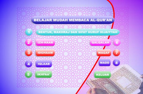 Media Pembelajaran Interaktif Belajar Mudah Membaca Al-Qur'an Flash
