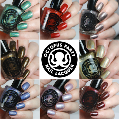 Octopus Party Nail Lacquer Fall 2015