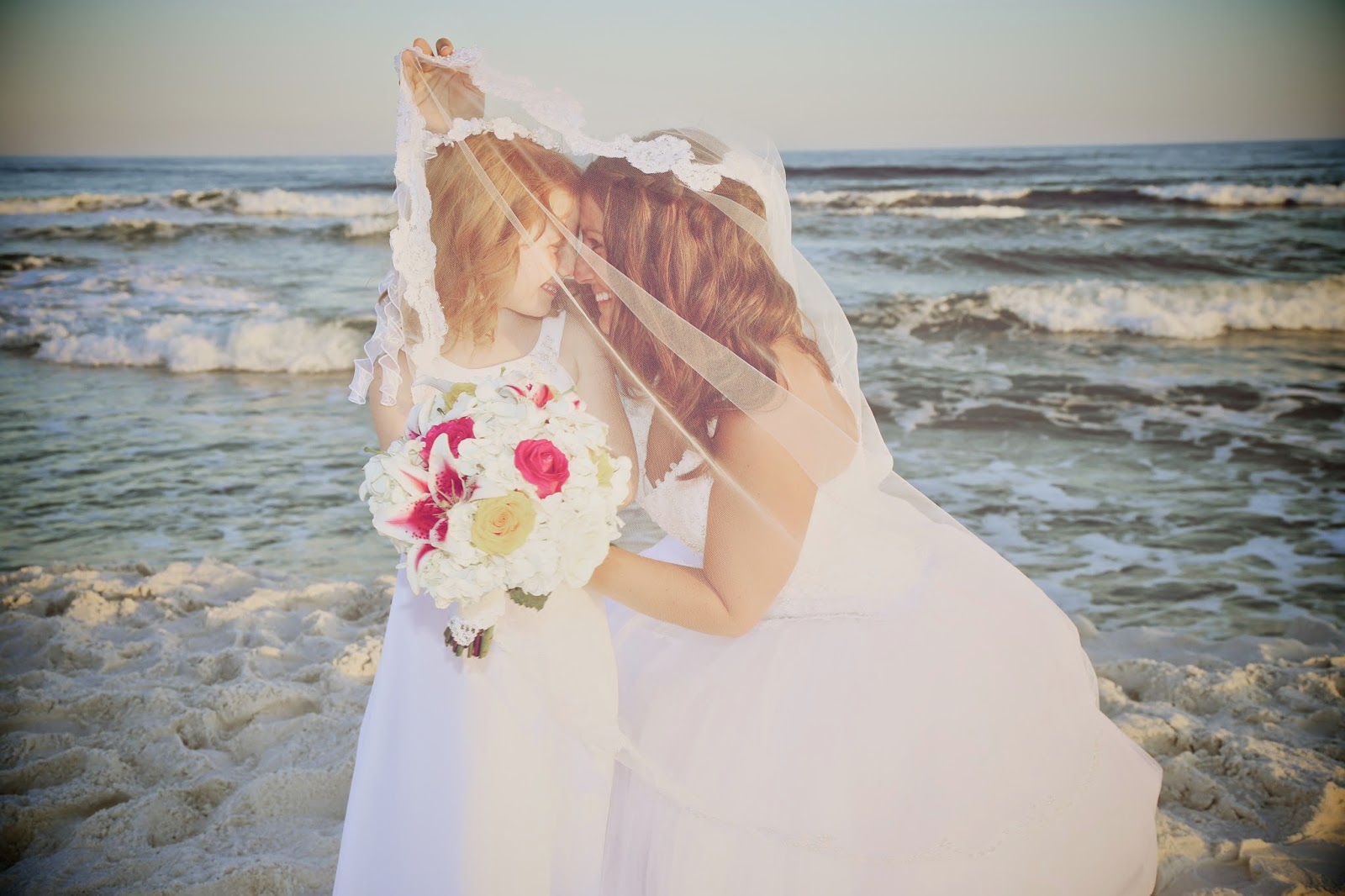Blending Families for Beach wedding ceremonies in Pensacola Beach