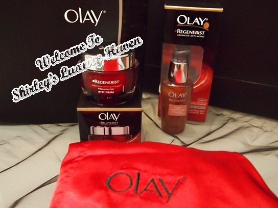 olay regenerist night resurfacing essence goodie bag