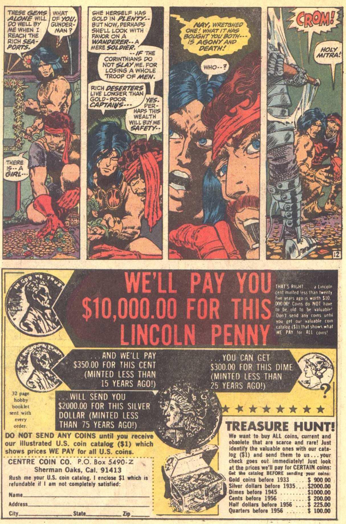 Conan the Barbarian (1970) Issue #8 #20 - English 13