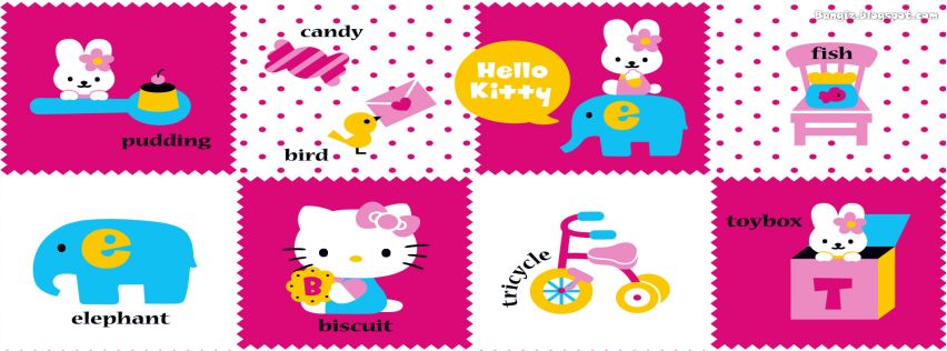 Foto Sampul Facebook Hello Kitty Terbaru