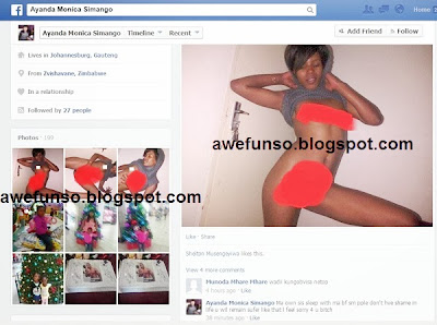 sister3 PHOTOS: Lady Post Her Blood Sisters N*ked Pictures On Facebook For Sleeping With Her Boyfriend