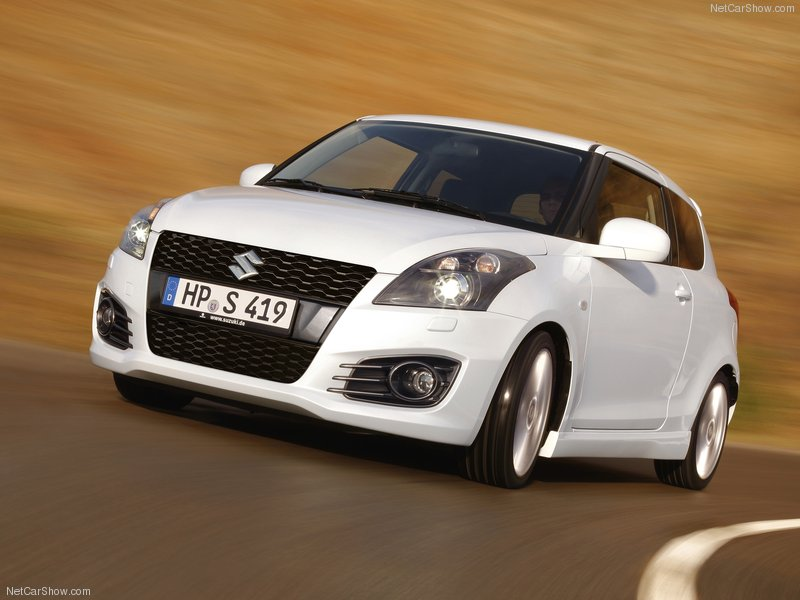 2012 New Suzuki Swift Sport