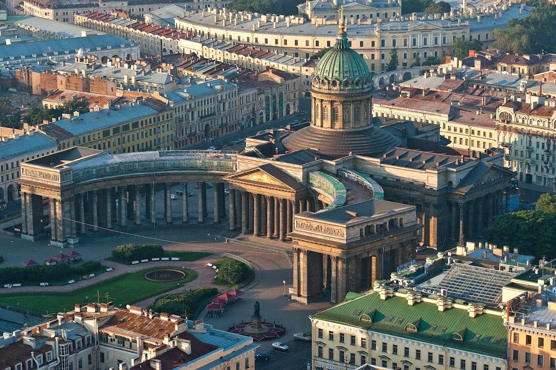 Kazan Cathedral in St.Petersburg