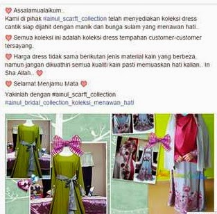 review ainul zehra collection