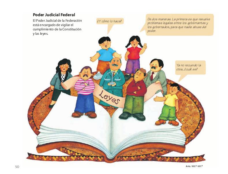 Poder Judicial Federal - Conoce nuestra Constitución 4to 2014-2015