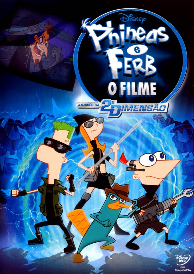 Phineas e Ferb: Através da 2ª Dimensão – Dublado