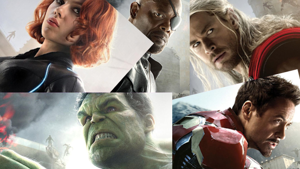 New 'Avengers: Age of Ultron' Posters Feature Iron Man, Hulk, Black Widow, Nick Fury And Thor