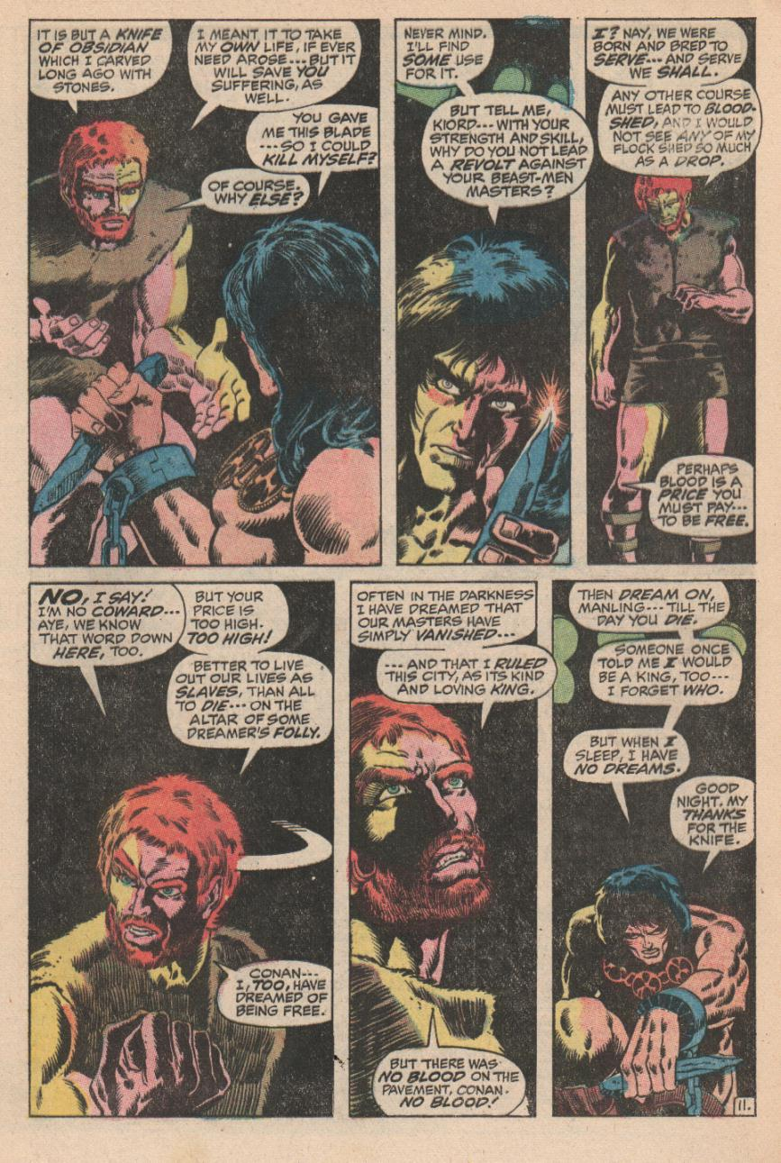 Conan the Barbarian (1970) Issue #2 #14 - English 12