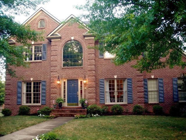 Exterior paint ideas for homes with brick - Painting brickwork exterior ideas ...