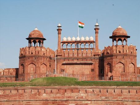 red fort built