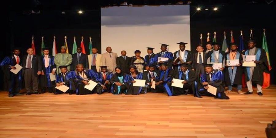 حفل تخريج الطلاب الأفارقة بمكتبة الإسكندرية