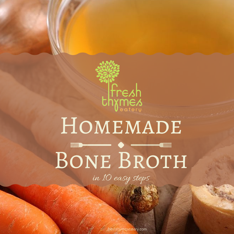 how to make bone broth at home
