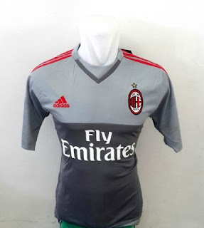 gambar detail baju penjaga gawang ac milan musim depan Jersey Keeper Ac Milan home terbaru musim 2015/2016 di enkosa sport toko online terpercaya