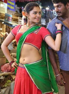 Andrea Jeremiah in saree Spicy pics