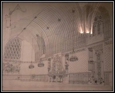 Expo reve de monuments La Conciergerie Paris cathédrale restauration dessin technique